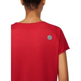PYUA Skip S T-Shirt Donna, rosso